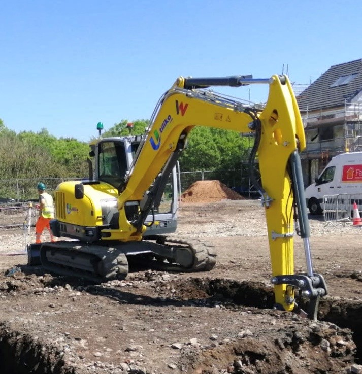All Excavation Works by Utility Contractor