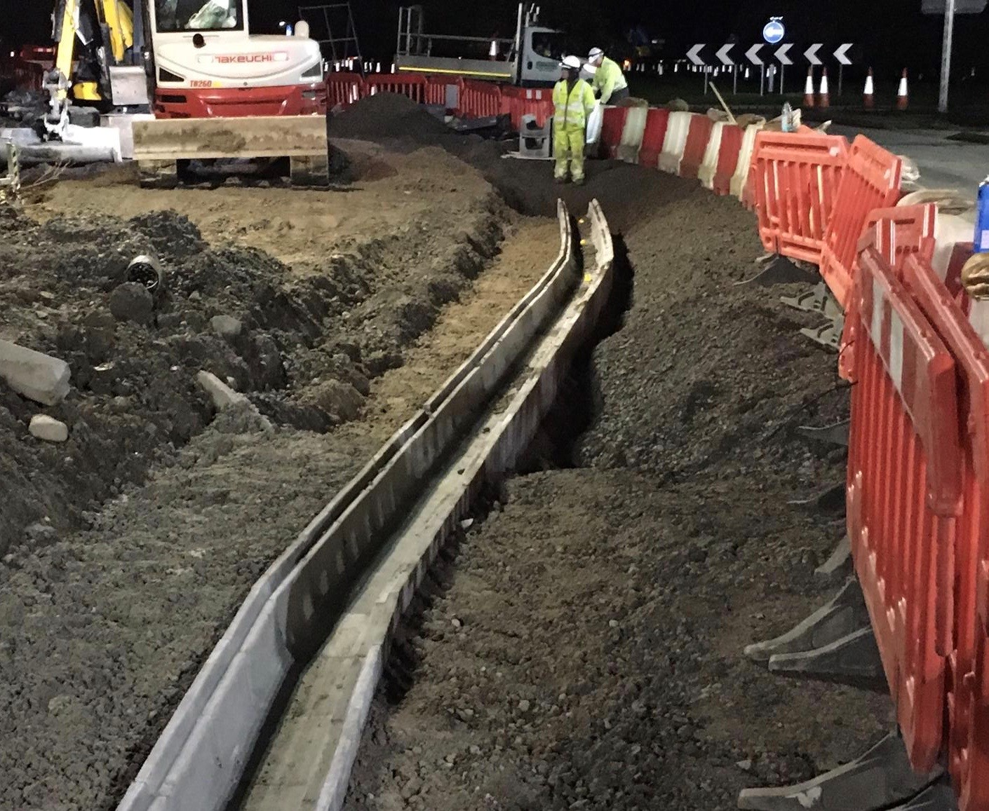 Ducting by Utility Contractors